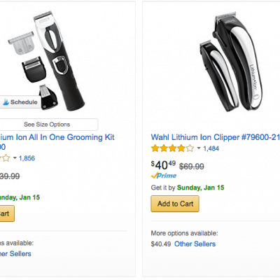 Discounted Wahl Trimmers and Home Barber Sets – Up to 50% off