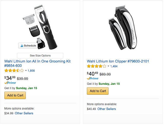 Discounted Wahl Trimmers and Home Barber Sets - Up to 50% off - Cha Ching Queen