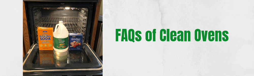FAQs of Clean Ovens