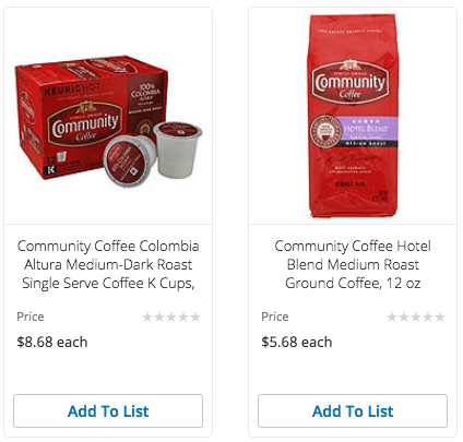 H-E-B Community Coffee Coupon and Deals