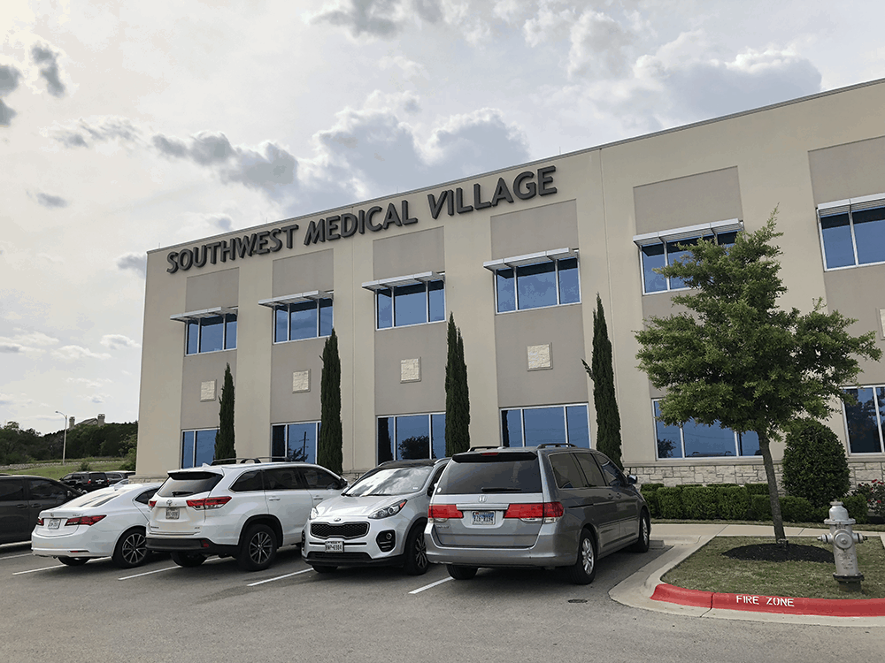 Southwest Medical Village in Austin easy parking