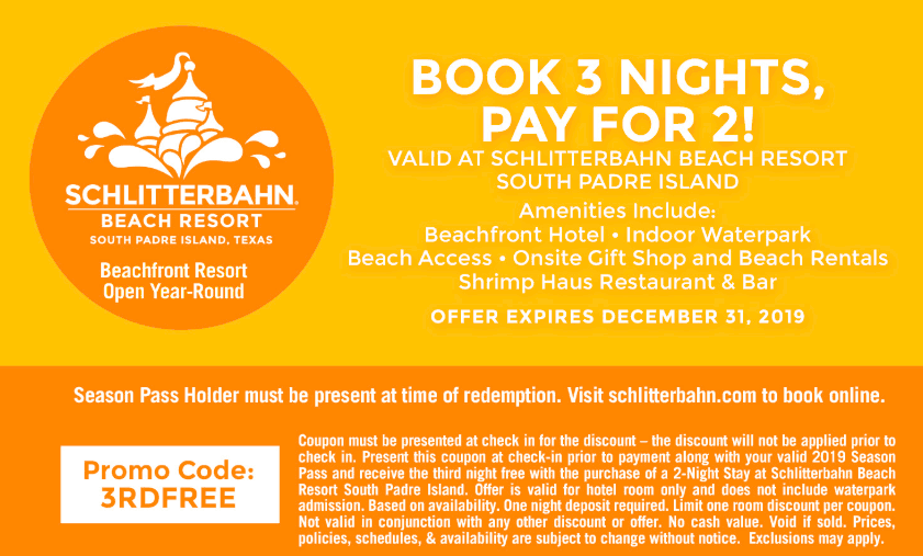 schlitterbahn printable coupon code 2019 south padre beach resort-min