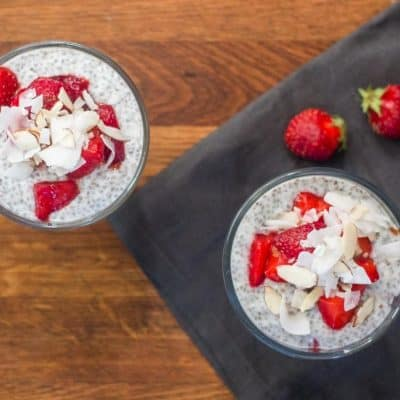 Easy and Healthy Strawberry Chia Pudding Parfait Recipe