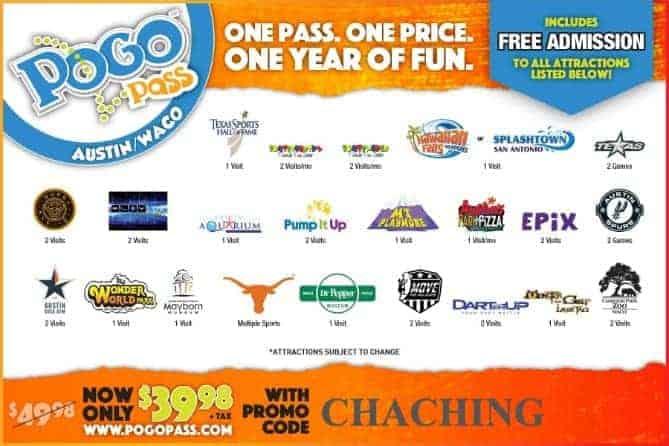 Pogo Pass Austin Promo Code