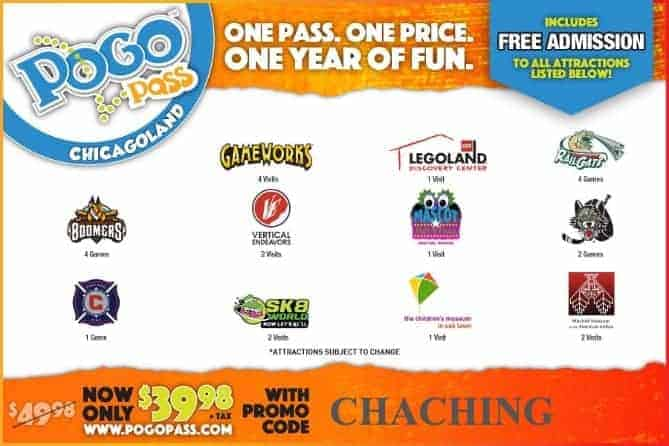 Pogo Pass Chicago Code
