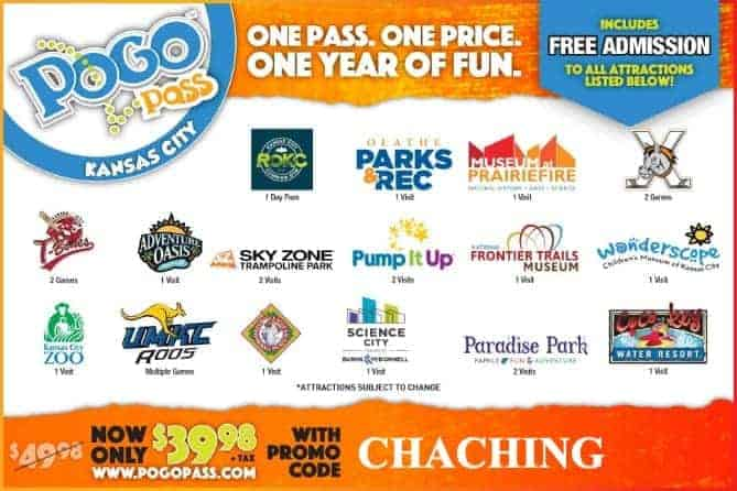 Pogo Pass Kansas City Promo Code