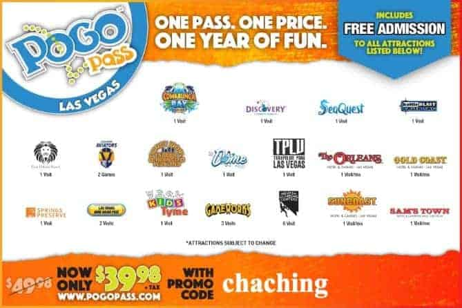 Pogo Pass Las Vegas Coupon Code