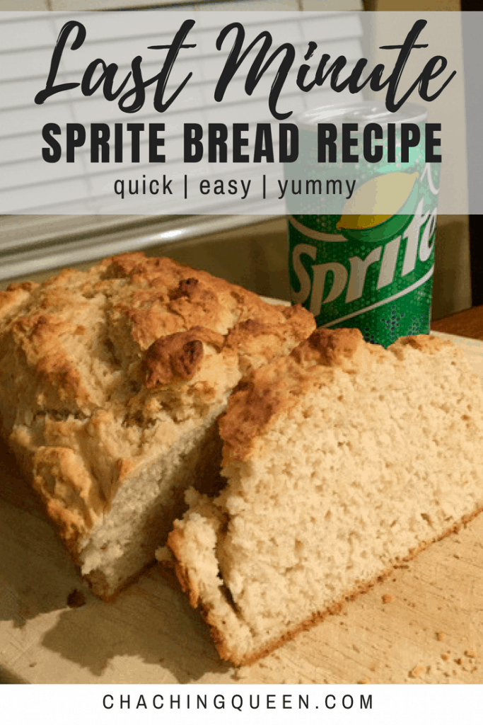 last minute sprite bread recipe on cha ching queen