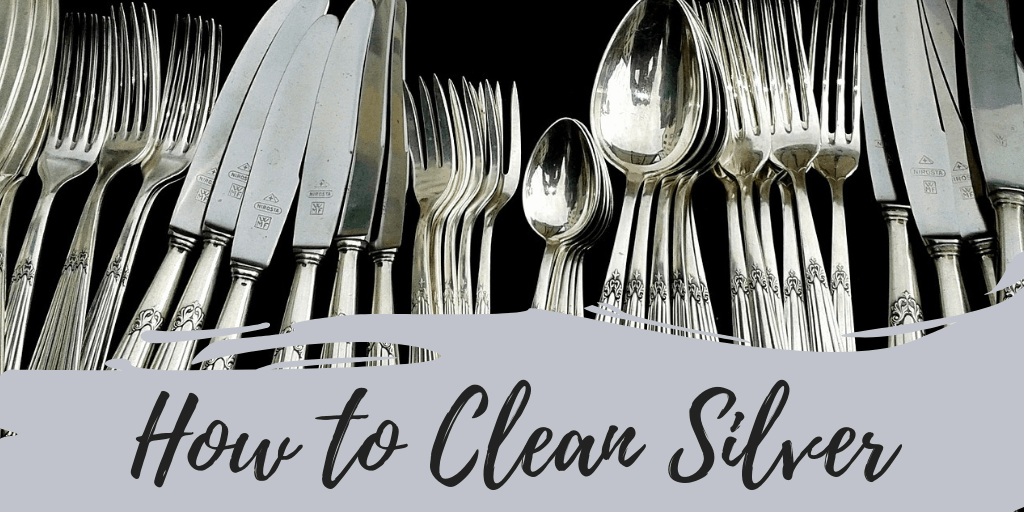 how to clean silver with coke, toothpaste, vinegear