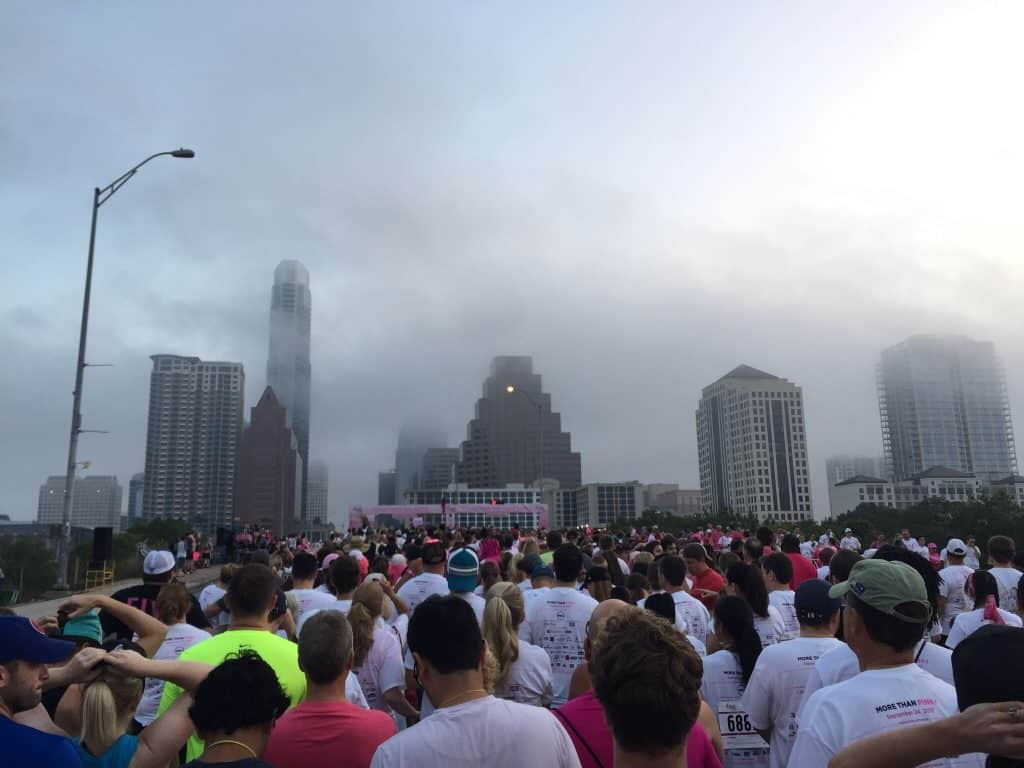race for the cure - breast cancer survivor blogger