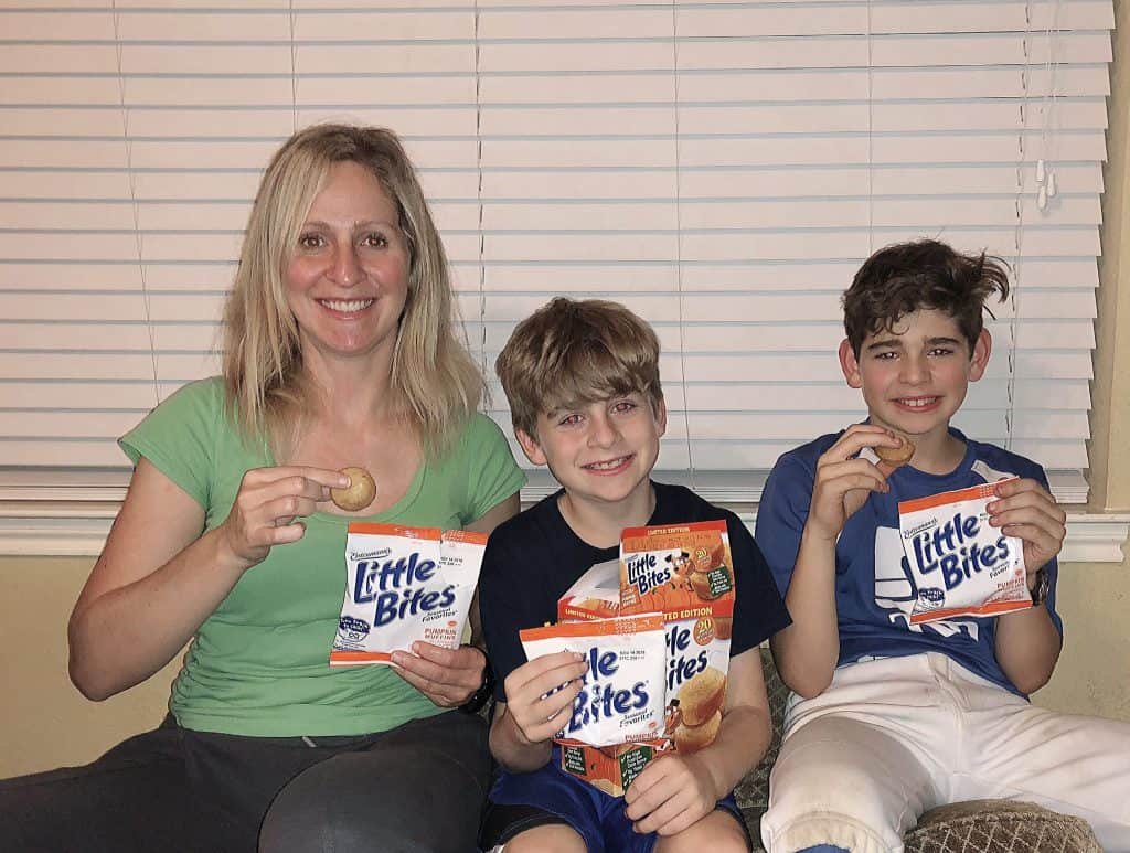 Gift Pack Giveaway - Entenmann's® Little Bites® Pumpkin Muffins + $25 Visa Gift Card