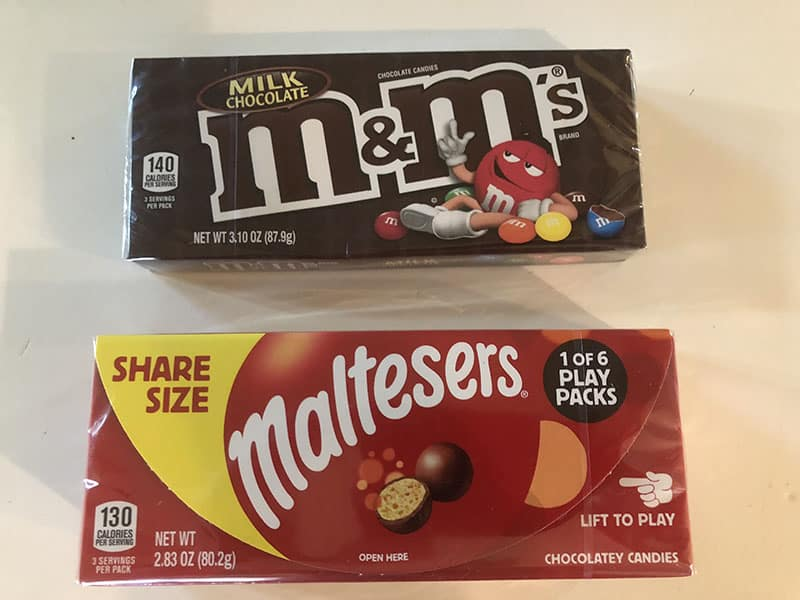 h-e-b printable coupon for free Theater Box MALTESERS Theater Box of M&Ms