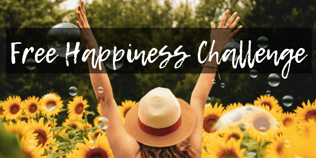 Are you happy? Do you want to live a happier life? Come join the free 30 Day Happiness Challenge.