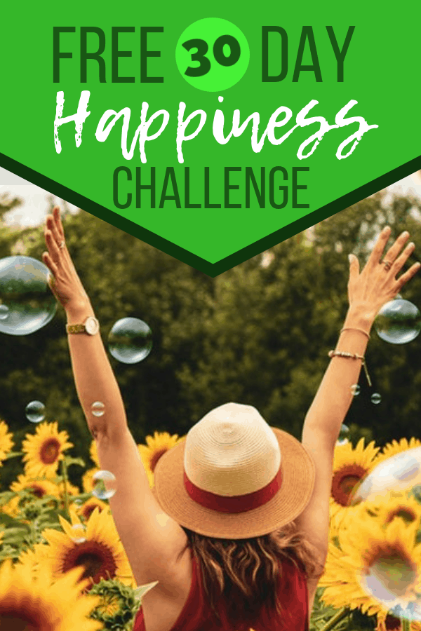 Free 30 Day Happiness Challenge from Cha Ching Queen. #happiness #love #selfhelp #freeproduct #chachingqueen