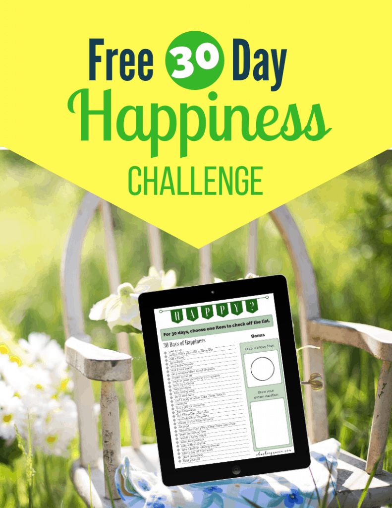 Images of Happiness Challenge Download Packet