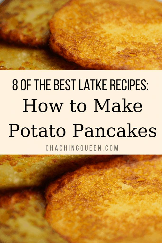 How to Make Potato Pancake Recipes for Chanukah