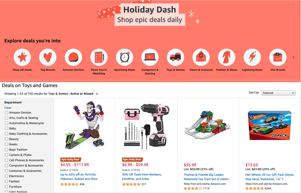 2020 Amazon Gift Ideas - List of the Best Toys for Kids Ages 5 -7