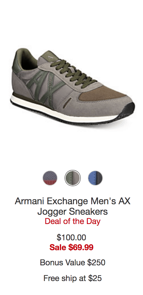 AX Jogger Sneakers