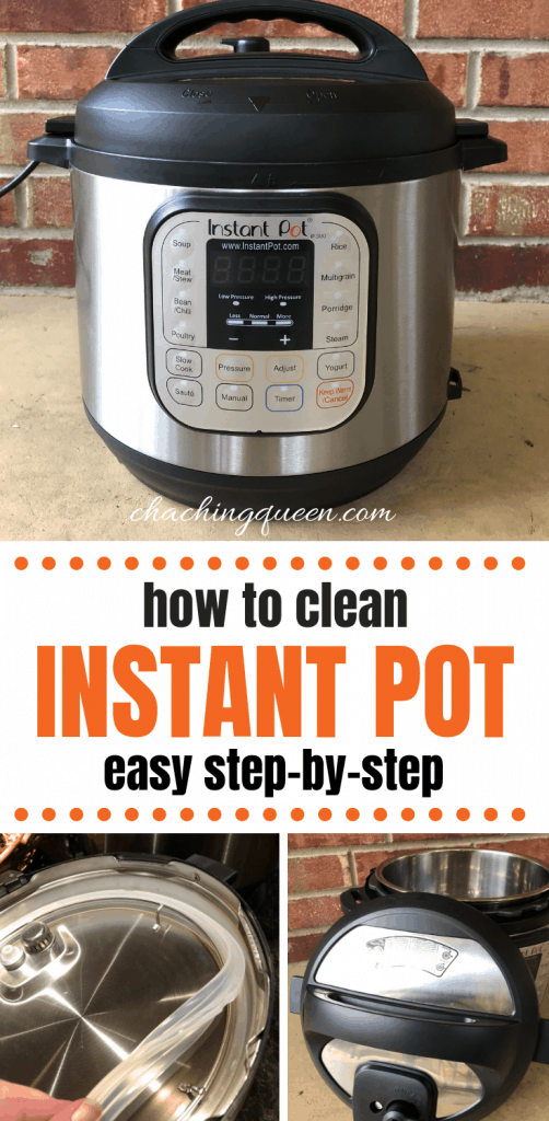 Learn how to clean Instant Pot Pressure Cooker. how to clean your Instant Pot - Easy Step-by-Step Instructions for Instant Pot Cleaning