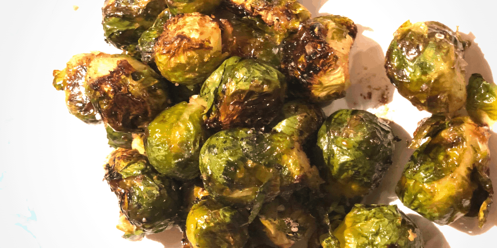 Roasted Brussels Sprouts with Maple Syrup and Soy Sauce Recipe
