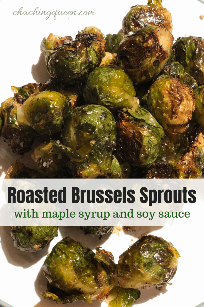 sweet and savory Brussels sprouts easy recipe