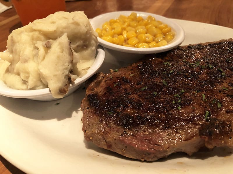 14-ounce Ribeye at Cheddar's Scratch Kitchen - New Menu Item