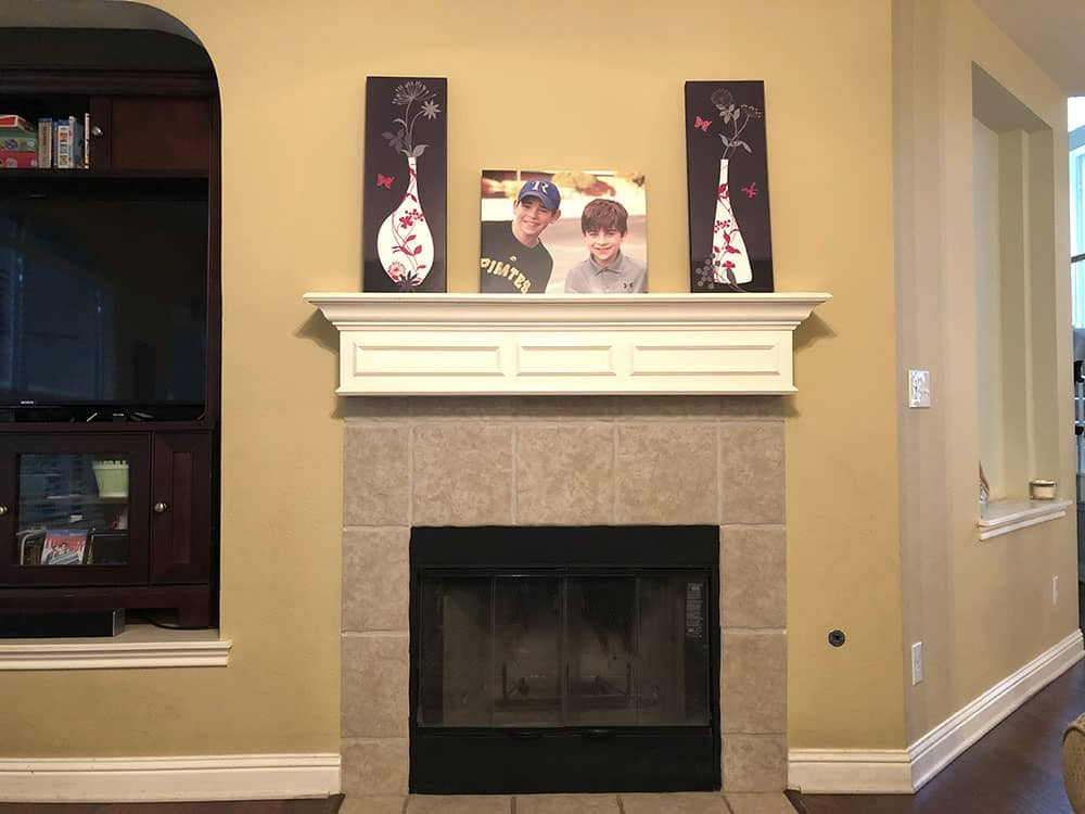 canvaschamp review photo canvas fireplace mantel decor ideas