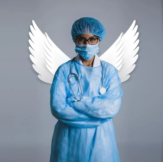 doctor with wings