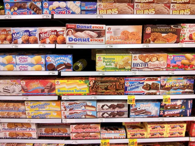 junk food at the convenience store - Go Grocery Shopping to Stock Up Your Hotel Room or Rental Home with Healthy Foods