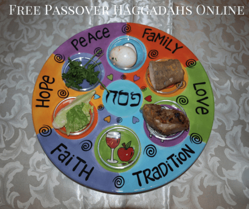 Free-Passover-Haggadahs-Online-Short--Seders-for passover