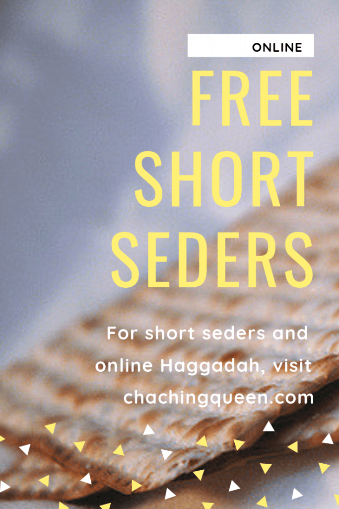 free-short-seder-and-online-haggadah-list
