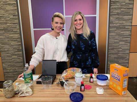 Cha Ching Queen Live on Studio 512 Austin - DIY Homemade Household Products - Rachel Belkin