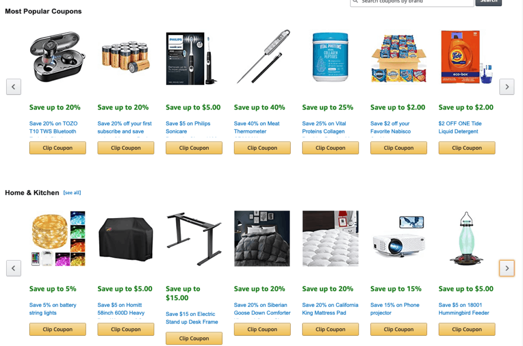 New Amazon Coupons to Clip for Beauty, Health, Electronics, Household