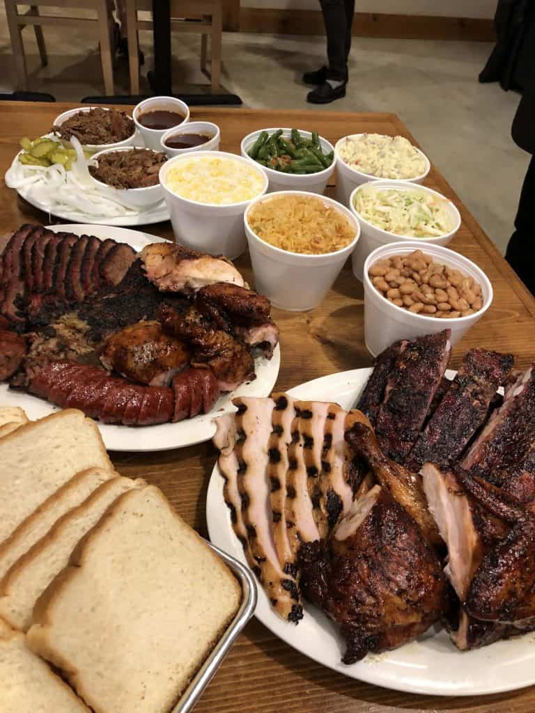 B & B Smokehouse Barbecue Restaurant South San Antonio Texas