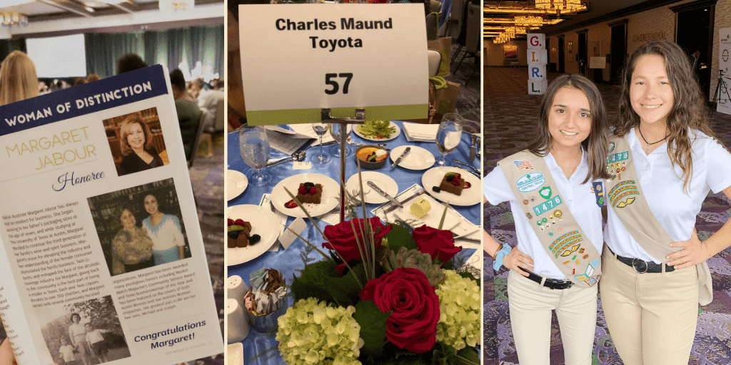 Central Texas Girl Scouts Women of Distinction Event with Charles Maund Toyota Austin, Texas Community Event