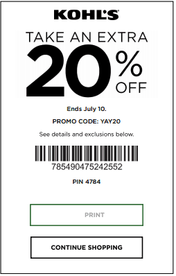 The Best Kohls Printable Coupons and Codes August 2019