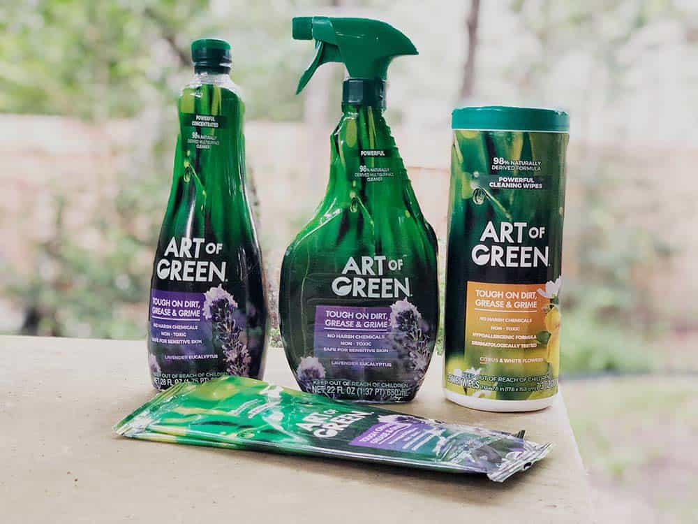 About Budget Friendly Green Cleaners from Art of Green