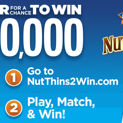 Healthy Snack Tips + Nut-Thins 2 Win Sweepstakes