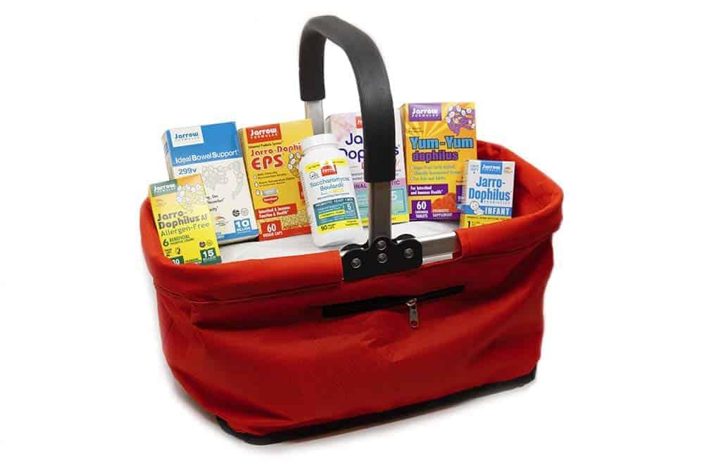 jarrow gift basket probiotics giveaway