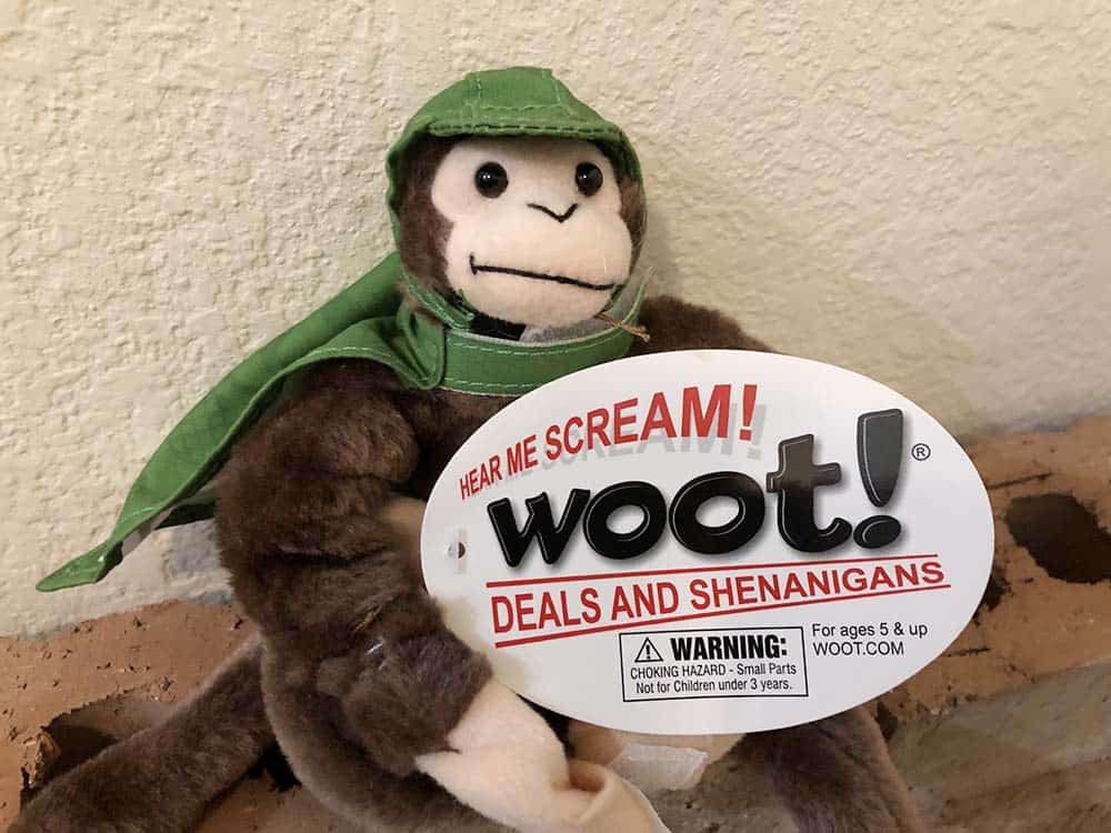 woot screaming monkey deals and shenanigans