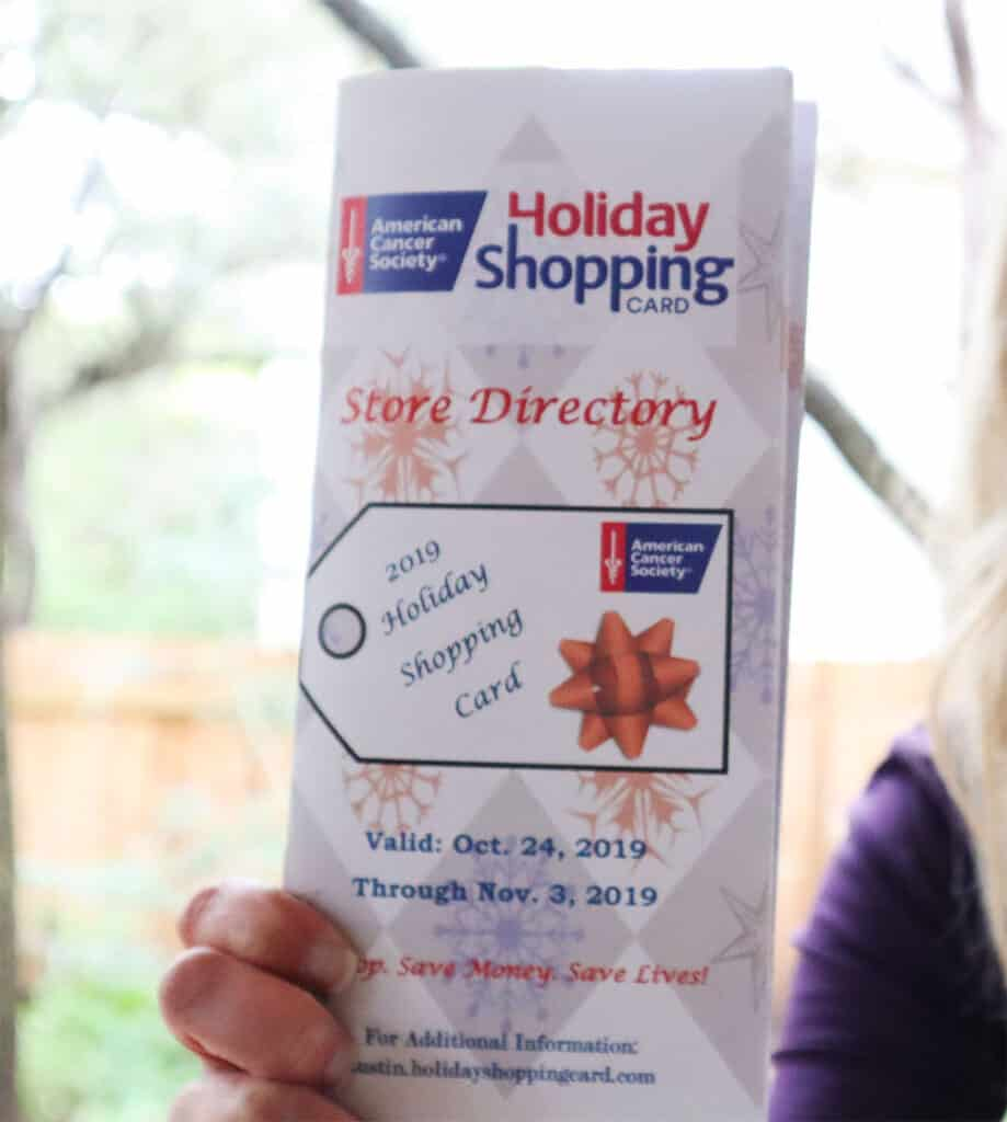 ACS Holiday Shopping Card Store Directory 2019