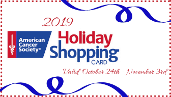 American Cancer Society of Central Texas Holiday Shopping Card 2019