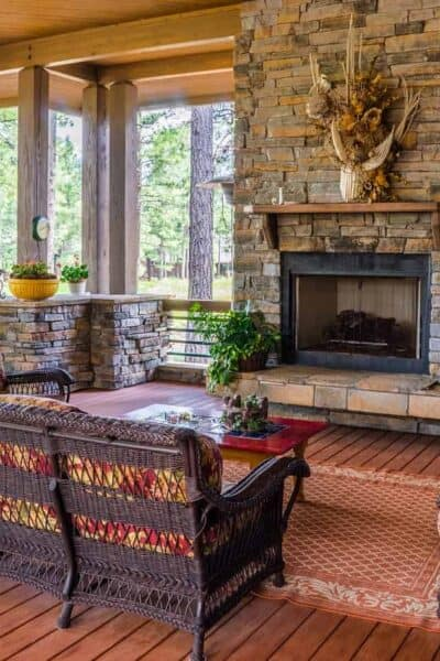 porch-outdoor feel fireplace patio