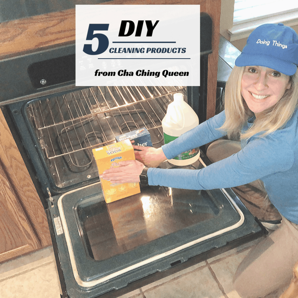 cleaning products you can make at home