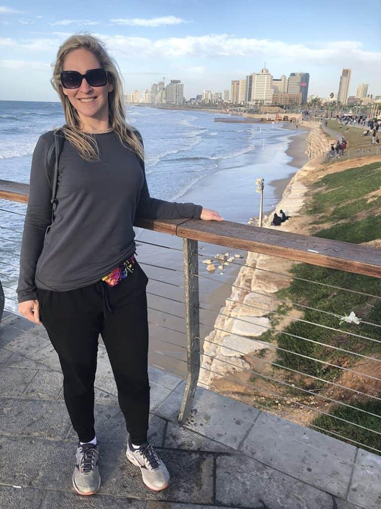rachel austin travel blogger in Tel Aviv Israel