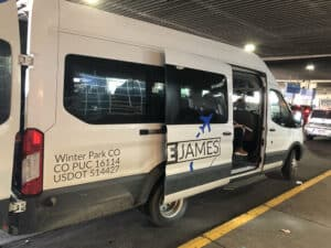 home james transportation from denver airport to winter park