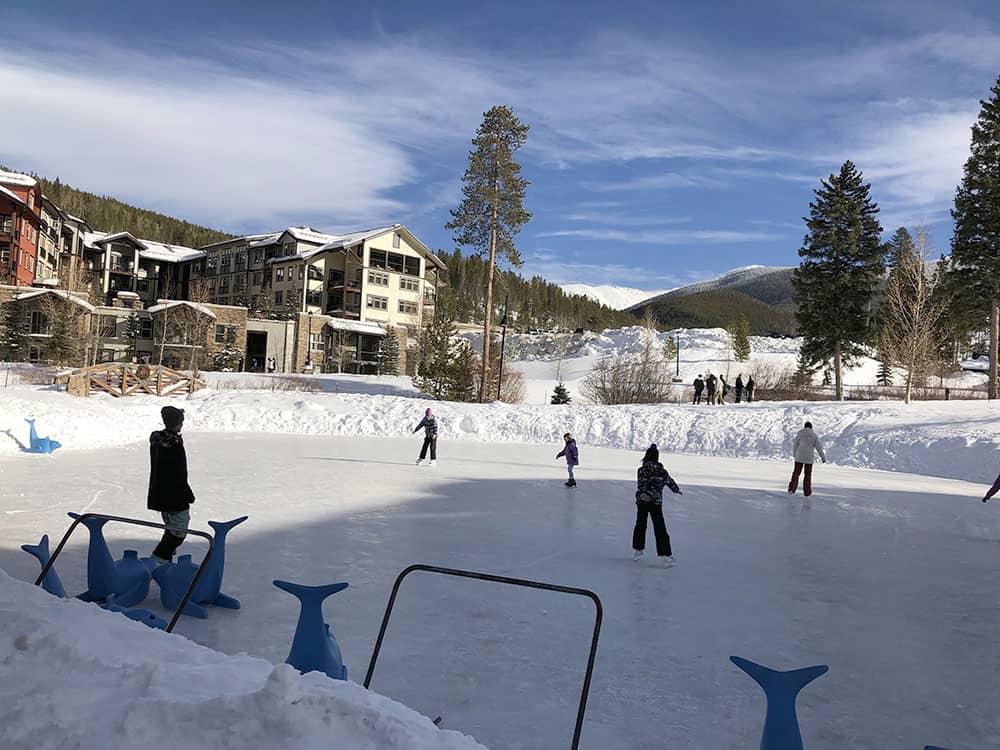 ice skating rink winter park resort