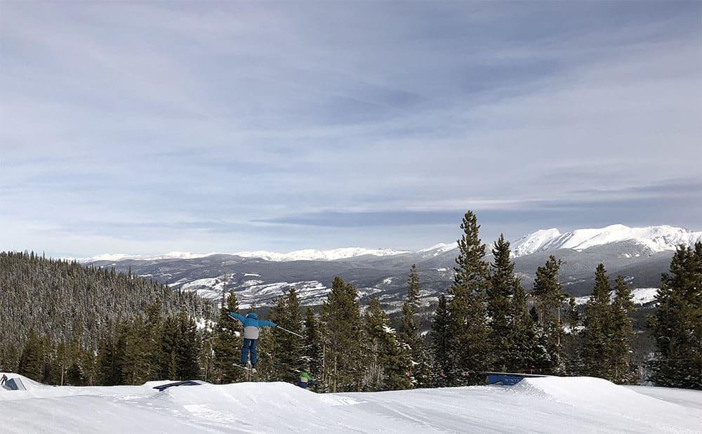 kid ski jump winter park colorado