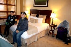zephyr mountain lodge winter park colorado bedroom