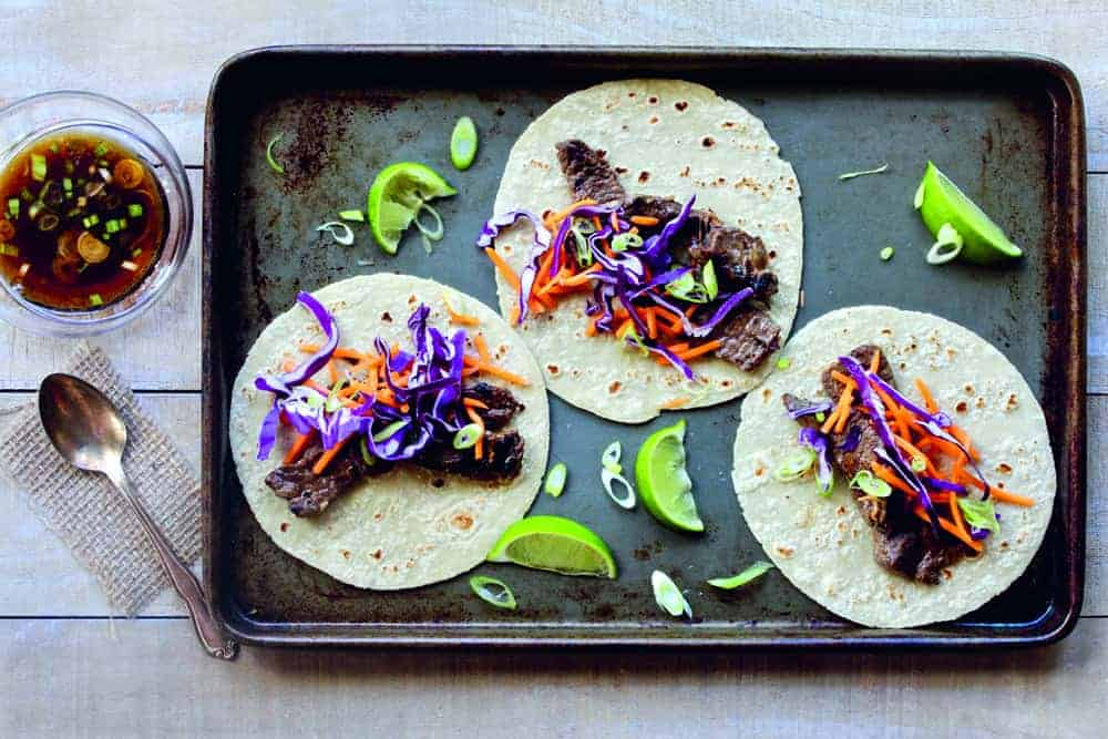 Korean Beef Tacos recipe